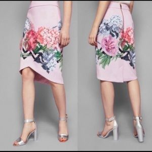 Ted Baker London Soella Garden skirt Sz 1